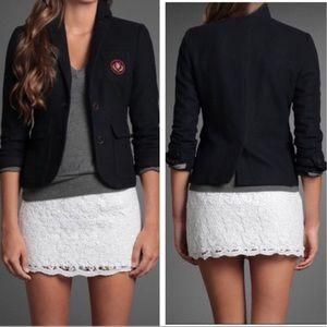 Abercrombie Wool Crest Blazer Sz XS ::XG2